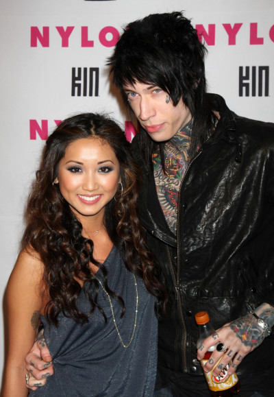 Trace Cyrus and Brenda Song Photo