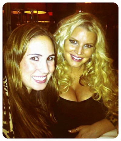 Jessica Simpson Twit Pic