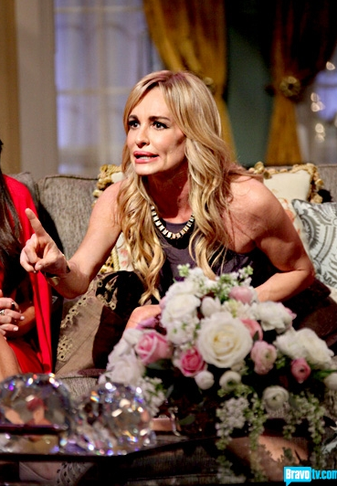 Taylor Armstrong is Pissed