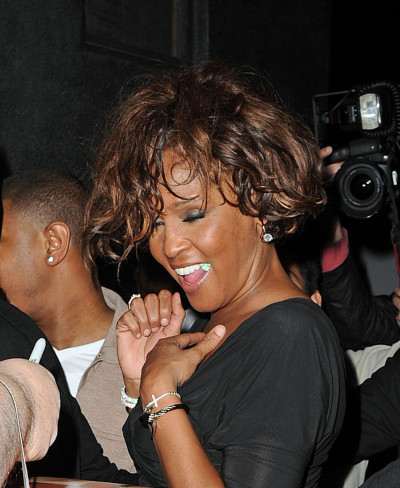 Whitney Houston in Hollywood