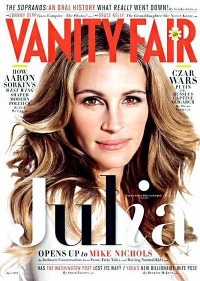 Julia Roberts Vanity Fair Cover