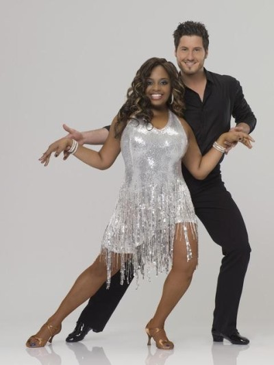 Sherri Shepherd and Val Chmerkovskiy