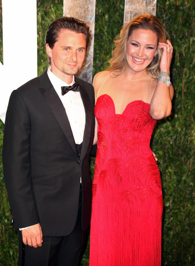 Kate Hudson and Matthew Bellamy