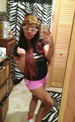 Snooki Self-Portrait