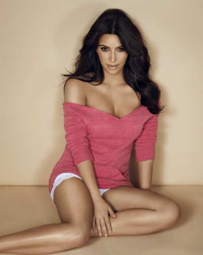 Kim Kardashian for Cosmo UK