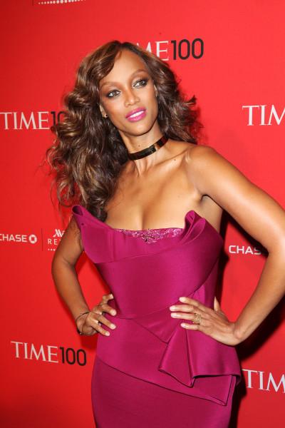 Tyra Banks at Time Gala