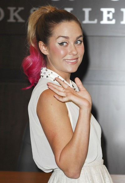 Lauren Conrad's Pink Hair