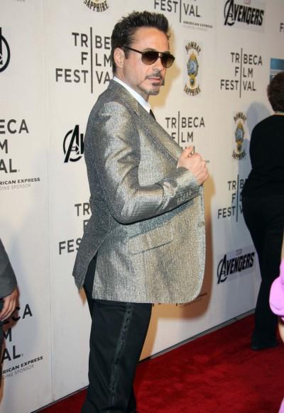 Robert Downey Jr. Movie Premiere Pic