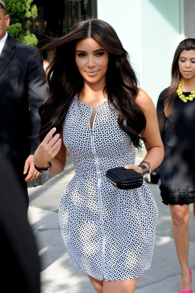 Kandid Kim Kardashian