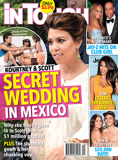Kourtney Kardashian Married?!?