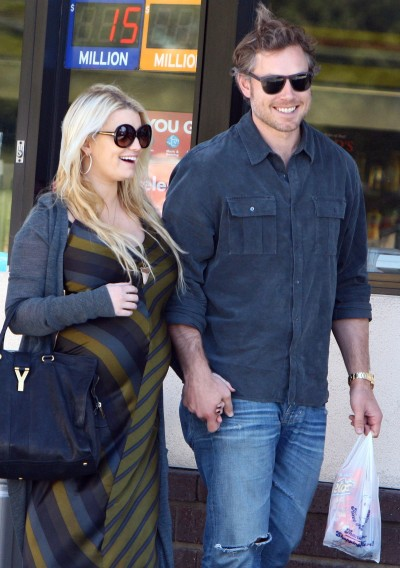 Eric Johnson, Jessica Simpson Photo
