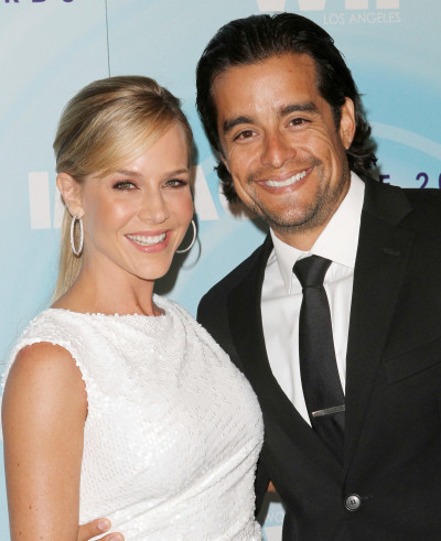 Julie Benz and Rich Orosco