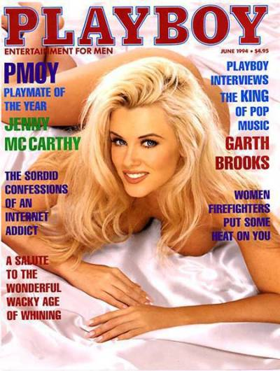 Jenny McCarthy Cover (Playboy)