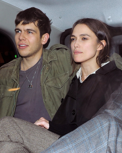 James Righton, Keira Knightley