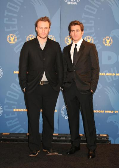 Heath Ledger with Jake Gyllenhaal