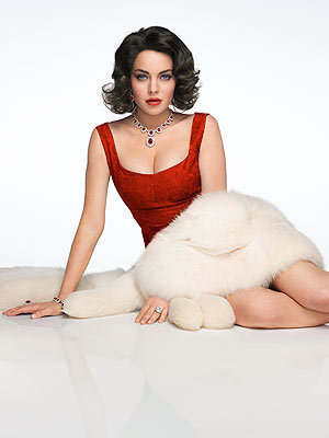 Lindsay Lohan Elizabeth Taylor Photo