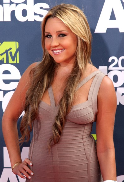 Amanda Bynes, Bandage Dress
