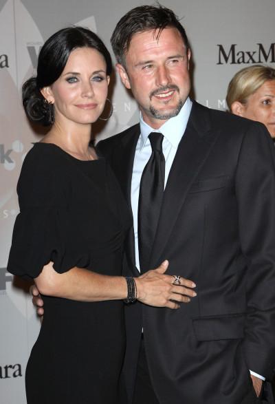 David Arquette and Courteney Cox Photo