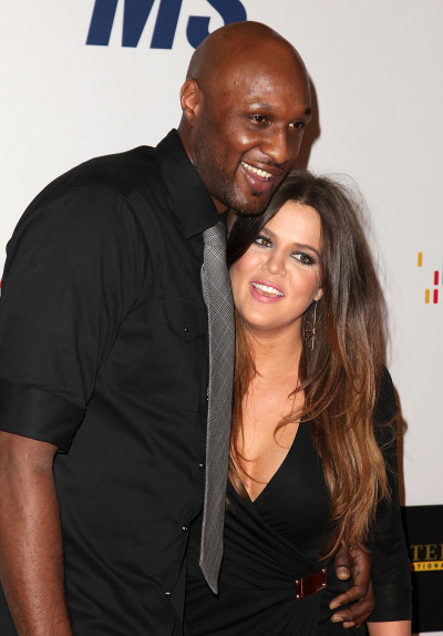 Khloe and Lamar Pic