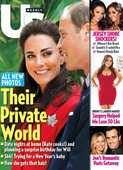 Kate Middleton Us Weekly Cover