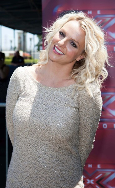 Britney Spears, Curly Hair