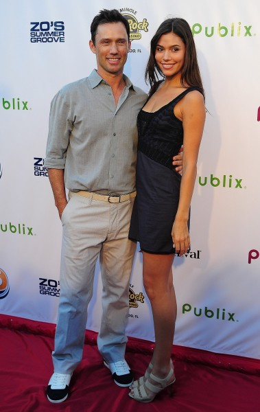 Jeffrey Donovan, Michelle Woods
