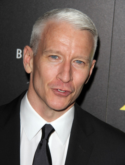 Anderson Cooper Close Up