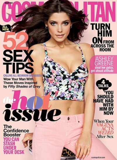 Ashley Greene Cosmo Cover