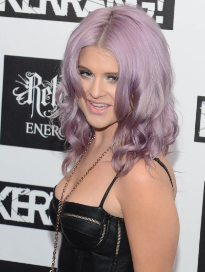 Kelly Osbourne with Pink Hair