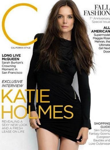 Katie Holmes C Magazine Cover