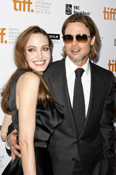 Angelina Jolie and Brad Pitt Photo