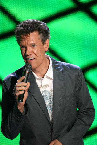 Randy Travis on the Mic