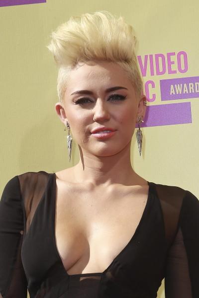 Miley Cyrus at the 2012 VMAs