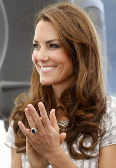 Kate Middleton Smiles