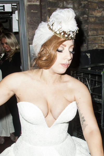 Lady Gaga, Boobs