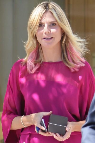 Heidi Klum in Beverly Hills