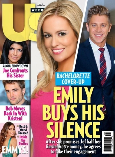 Emily Maynard and Jef Holm Cover