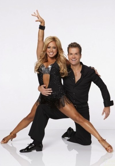 Sabrina Bryan and Louis Van Amstel