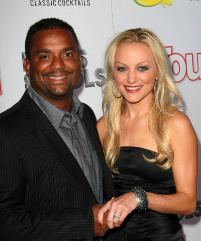 Alfonso Ribeiro and Angela Unkrich: Married! - The ...