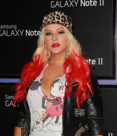 Christina Aguilera Gets Serious