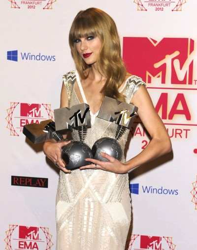 Taylor Swift at the EMAs