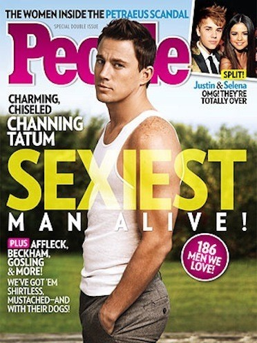 Channing Tatum People Cover