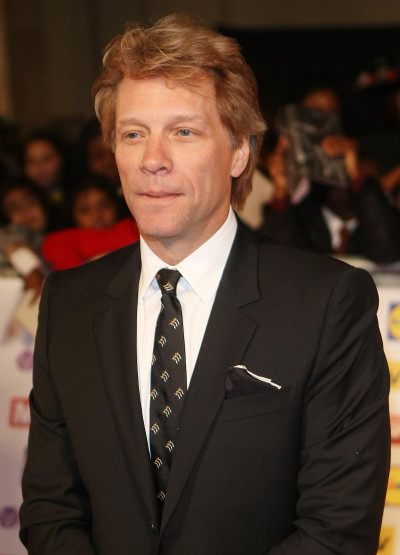Bon Jovi in a Suit