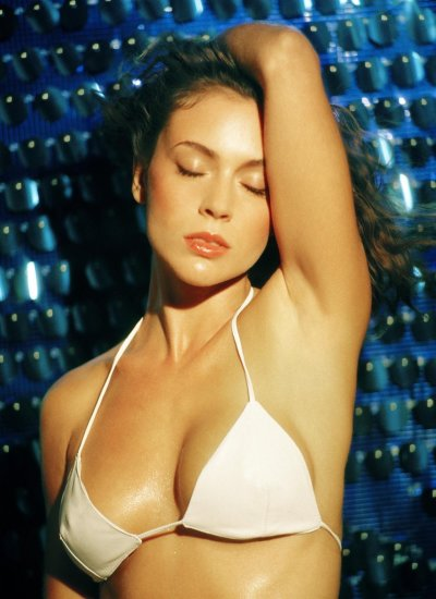 Alyssa Milano Bikini Photo