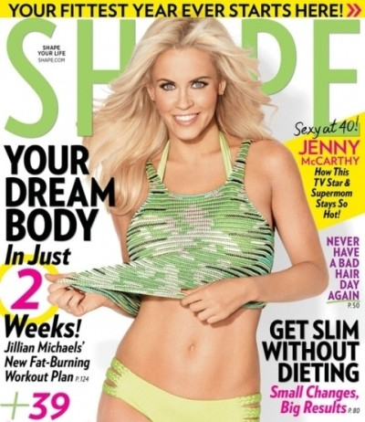 Jenny McCarthy Abs