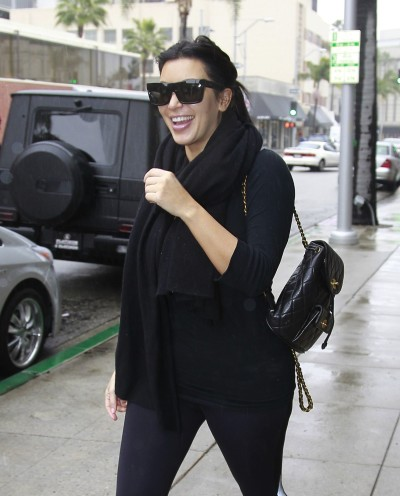 Kim Kardashian Laughing