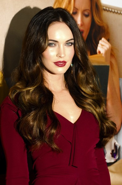 Megan Fox in Red