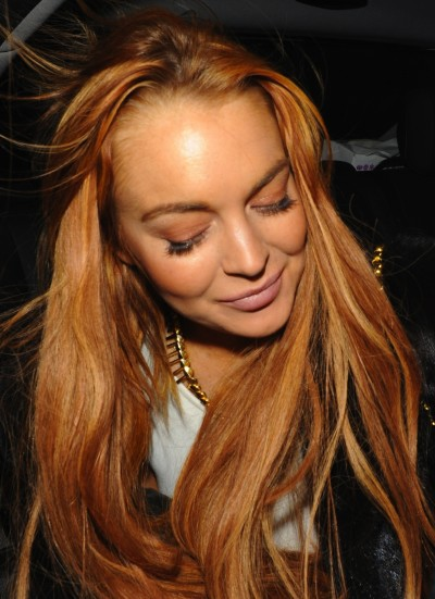 Lindsay Lohan Plastered