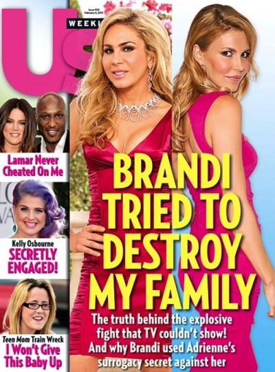 Adrienne Maloof and Brandi Glanville Photo