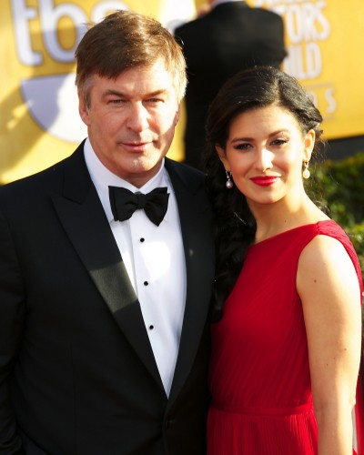 Alec Baldwin and Hilaria Thomas Photo